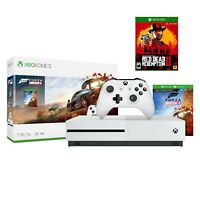 Microsoft Xbox One S 1TB  Forza Horizon 4 Bundle + Red Dead Redemption 2