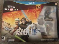 Disney Infinity Star Wars Starter Pack (3.0 Edition) (Nintendo Wii U, 2015)