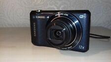 Samsung WB Series WB36F Digital Camera - Black/Dark Blue - Good Condition