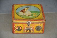 Vintage Prabhat Stove No. 101 Ad Litho Tin Box