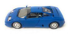 Bburago Burago Bugatti EB110 Blue Spoiler Down 3035