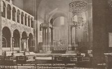 """""""Hundred Year old photo postcard from collection"""" Westminster, The Sanctuary"""