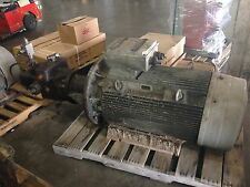 Siemens Motor w/ Pump 186-200Kw 400V 690Y 1490RPM 250HP 460V 1792PM IP55 Used