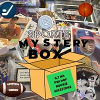 Mystery Sports Card Box With Rare Cards Auto Lebron James Zion Williamson & More