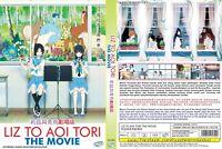 ANIME DVD Liz To Aoi Tori(The Movie)English sub&All region + FREE CD