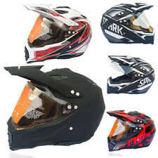 Full Face Motorcycle Motorcross Off-road Helmet Visor Lens Breathable Duarable