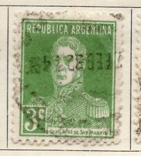Argentine Republic 1923 Early Issue Fine Used 3c. 182995