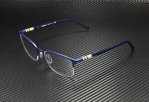 BURBERRY BE1323 1261 Matte Blue Demo Lens 54 mm Men's Eyeglasses