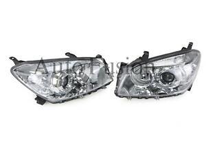 Headlights Pair For Toyota Rav4 Aca30 2006-2008