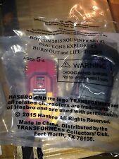 Botcon 2015 Transformers Diaclone Skids Hoist 2 Pack : Burnout Lift Life Ticket