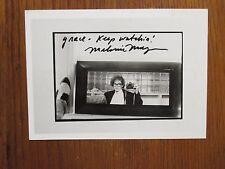 "MELANIE   MAYRON(""thirtysomething"")Signed  7""  x  5""  Glossy Black & White Photo"