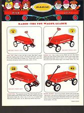 1970s VINTAGE CATALOG #2271 - RADIO FLYER WAGONS and SCOOTERS