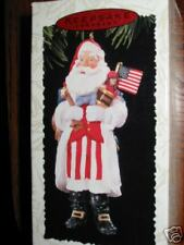 Hallmark 7th in Merry Olde Santa Series Patriotic 1996 America