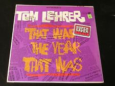 Tom Lehrer - That Was The Year That Was - 1965 LP - SEALED!