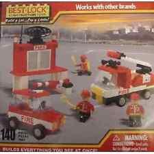 Best-Lock 140 Piece Firefighter Playset