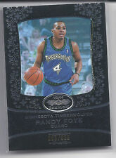2007-2008 Topps Echelon Basketball Randy Foye Timber Wolves Base Card #095/999