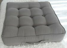 Homescapes grey armchair booster cushion