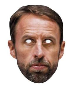 Gareth Southgate England Football Manager Single 2D Card Party Face Mask