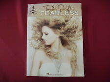 Taylor Swift - Fearless . Songbook Notenbuch Piano Vocal Guitar PVG