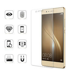 9H Premium Tempered Glass Film Full Cover Anti Dust Screen Protect For Huawei P9