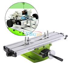 Mini Multifonction Support Table de Travail de Fraisage Machine Ouvrage Set Alu