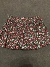 Womens Skirt Short Floral Print Size 10 Jack Wills