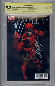 WOLVERINE #13 SS CBCS 9.2 MEXICAN CAMPBELL VARIANT SIGNED BY J. SCOTT CAMPBELL