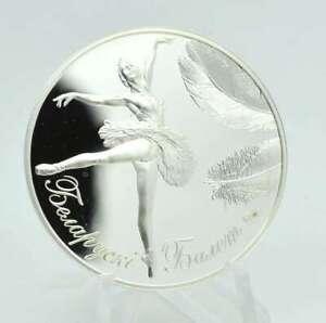 Weißrussland 20 Rubel 2013 Ballerina F15 Silber PP Belarus Lagerräumung