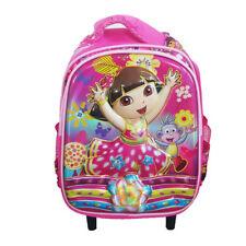 Dora the Explorer Travel Trolley School Bags Kids Luggage Suitcase Preschool