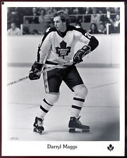 1979-80 NHL Toronto Maple Leafs TEAM issue B&W 8x10 PHOTO PICTURE Darryl Maggs