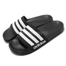 adidas Adilette Shower Black White Men Sports Sandals Slides Slippers AQ1701