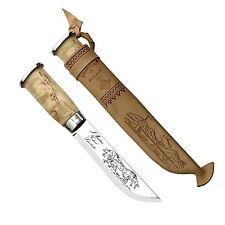Marttiini:255  pukko coltello manico in betulla cm.16 (made in Finland)