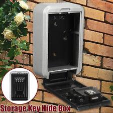 4 Digits Combination Password Key Box Wall Mount Safety Lock Organizer Outdoor
