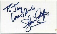 GLORIA ESTEFAN AUTOGRAPHED SIGNED INDEX CARD SIGNATURE 3x5 ORIGINAL PROOF