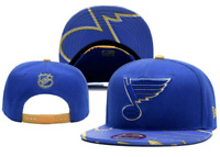 St Louis Blues NHL Hockey Embroidered Hat Snapback Adjustable Cap