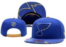 St Louis Blues NHL Hockey Embroidered Hat Snapback Adjustable Cap