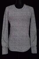 Lululemon Reflective Extra Mile Long Sleeve Run Shirt Heathered Black 8