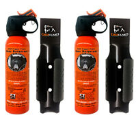 UDAP 12VHP Pepper Power Bear Spray (2 PACK) Repellent w/NEW Griz Guard Holster