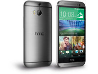 HTC One M8 OP6B120 AT&T GSM Unlocked 32GB Smartphone -Grey-Good