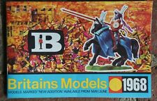 Vintage BRITAINS MODELS Catalog 1968 - Military Toys, SOLDIERS Booklet