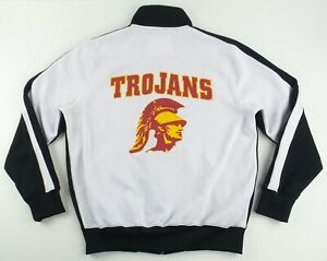 CHAMPS Team Edition Apparel NCAA USC Trojans Track Jacket Size Men's Medium M