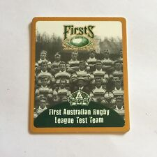 Firsts Centenary Of Rugby League Card - Rugby League Premiers - Smiths Chips