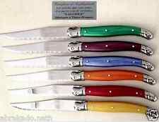 6 Couteaux laguiole veritable FRANCE couvert de table