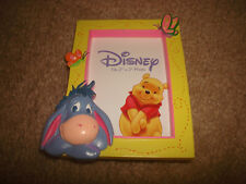"Disney Winnie The Pooh Picture Frame 2"" x 3"" Photo Eeyore Butterfly Kids Girls"