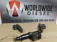 2000 Detroit Series 60 12.7 DDEC IV Injectors. Set of 3. Part # 7650