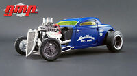 1:18 GMP #18229 - 1934 Blown Altered Coupe Southern Speed & Marine blau