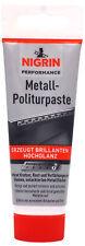 NIGRIN Metall-Politurpaste 75ml Metal Polish Politur Chrom Alu Edelstahl
