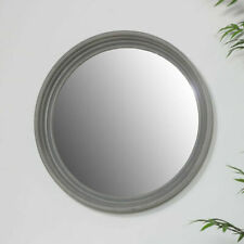Grey Plastic Frame Decorative Mirrors