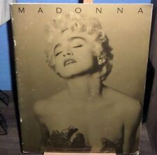 MADONNA WHO'S THAT GIRL ENGLAND TOUR BOOK HOLIDAY INTO THE GROOVE LIKE A VIRGIN