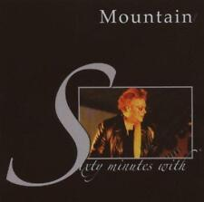 MOUNTAIN - SIXTY MINUTES WITH (NEW & SEALED) CD Rock Live Leslie West